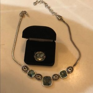 COPY - Brighton necklace and ring set